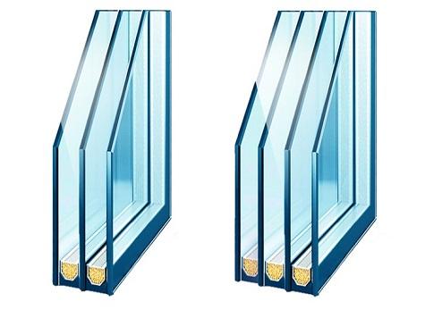 Коефициенти на стъклопакети